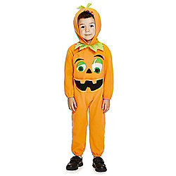 F&F Halloween Pumpkin Dress-Up Costume years 01 - 02 Orange
