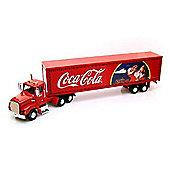 Coca Cola 1:43 Scale Holiday Caravan with Lights