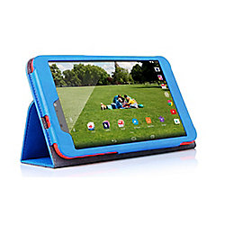 hudl 2 Blue Faux Leather Case