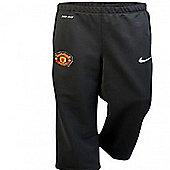 2012-13 Man Utd Nike Woven Pants (Black) - Black