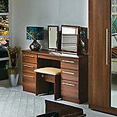 Welcome Furniture Sherwood Stool - Walnut