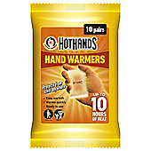 Hot Hands Hand Warmers, 10 Pairs