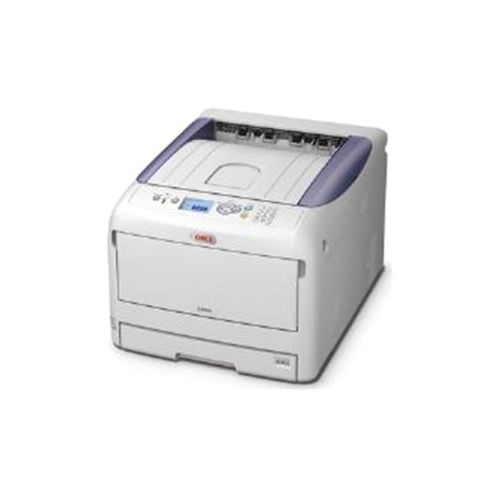 OKI C822dn (A3/A4) Colour Laser Printer (Duplex, Network Ready) 256MB 1200x600dpi 13ppm (A3) 23ppm (A4) 400 Sheets USB/Ethernet (PCL 6, PCL5c, SIDM)