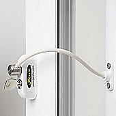 Jackloc Window and Door Restrictor White