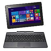 Asus T100TA-DK066H Intel Atom Z3775 Quad Core Processor 10.1 HD Touch Screen Microsoft Windows 8.1 2GB DDR3 RAM 32GB SSD + 500GB HDD Laptop