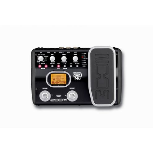 Zoom G2.1NU Guitar Effects Pedal With USB