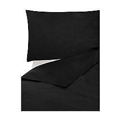 Egyptian 200 TC Black Super King Duvet Cover