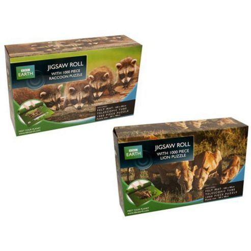 BBC Earth Jigsaw Roll 1000 Piece Puzzle