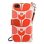 Orla Kiely Wallflower Wristlet Case with Wallet for iPhone 5