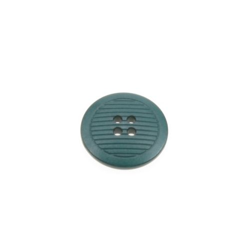 Dill Buttons 25mm Ribbed Forest Green