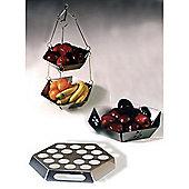 Mode - Steel Kitchen Set - Fruit Bowl, Hanging Tidy + Egg Holder