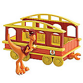 Dinosaur Train - Conductor with Train Car