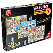 Wasgij? - Collector's Box - Volume 1 - 3x 1000 Puzzles Included - Jumbo