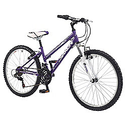 "Saxon Victory 24"" Front Suspension Mountain Bike Girls"
