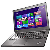 Lenovo ThinkPad T440 (140 inch) Notebook Core i3 (4010U) 17GHz 4GB 500GB WLAN BT Webcam Windows 7 Pro 64-bit/Windows 8 Pro 64-bit RDVD (Intel HD