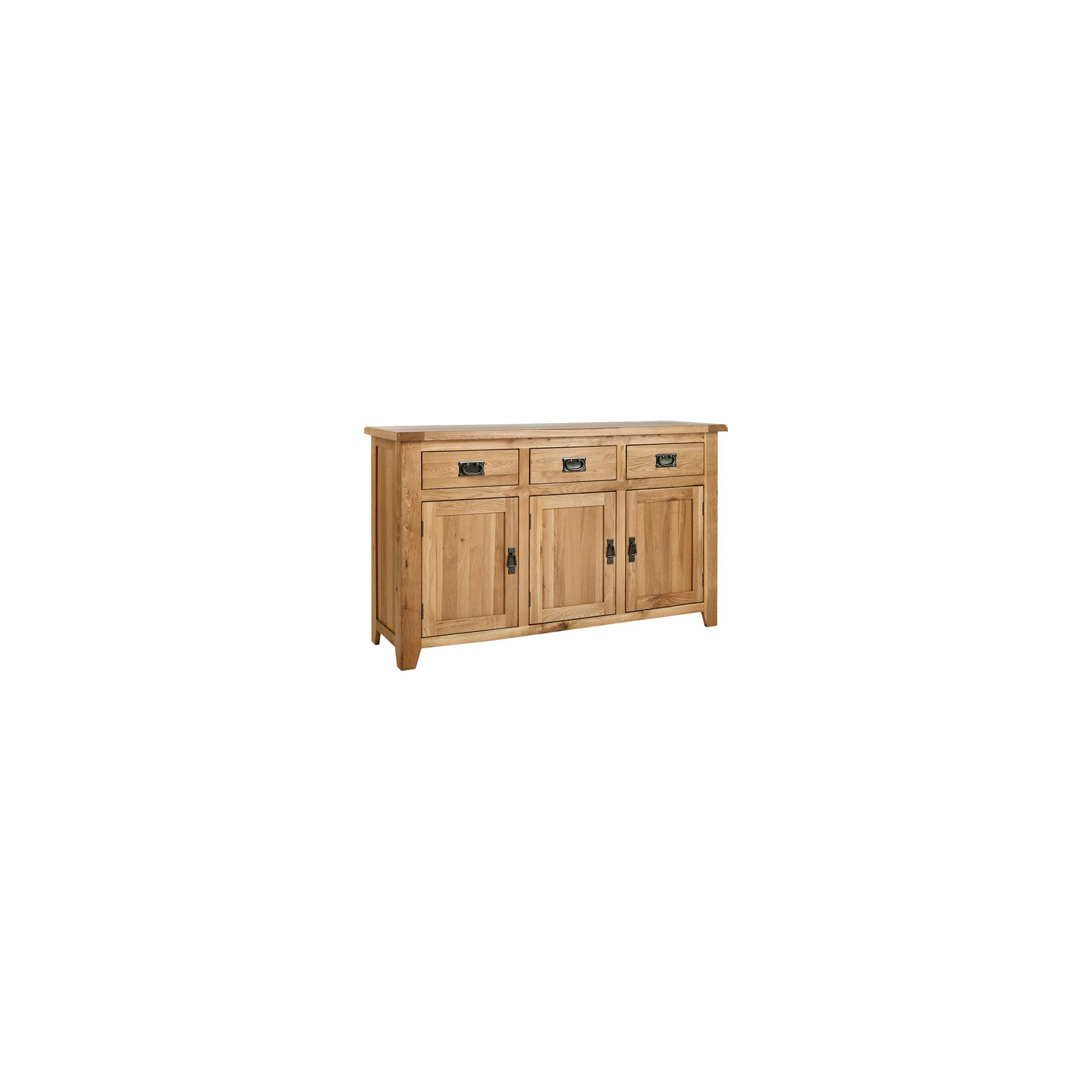 Ametis Westbury Reclaimed Oak Large Sideboard at Tesco Direct