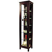 Kyoto - Solid Wood And Glass Display / Storage Unit - Wenge