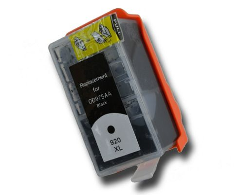 Black HP 920 XL Chipped Compatible ink cartridge for Photosmart CD975AE CD971AE