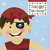 Cheeky Pirate Birthday Card