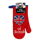 Sabichi Best of British Single Oven Glove