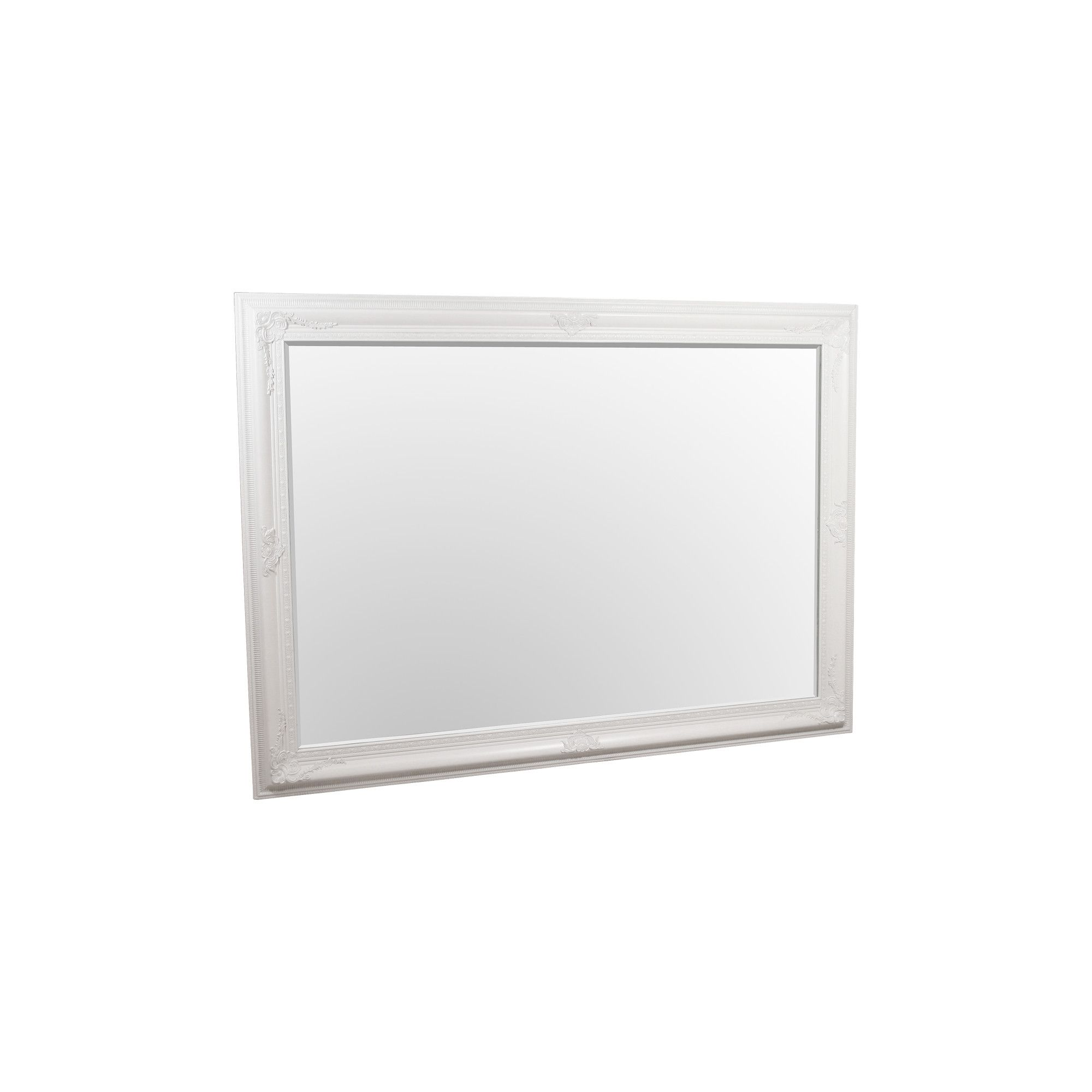 Home Essence Edward King Size Wall Mirror - White at Tesco Direct