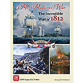 Board Game - Mr Madisons War The Incredible War Of 1812 - GMT Games