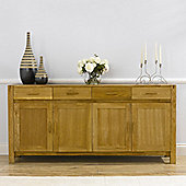 Mark Harris Furniture Verona Sideboard - Medium Oak
