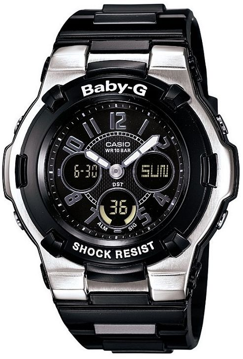 Casio Baby G Watch with World Time Black