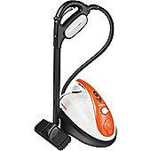 Polti Vaporetto Smart Airplus Steam Cleaner Black, White & Orange