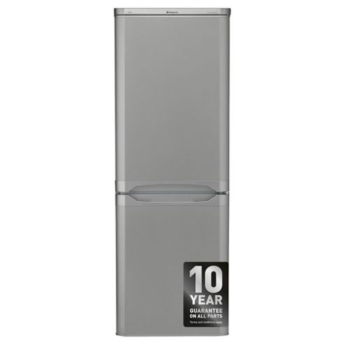 Hotpoint NRFAA50S Freestanding Fridge Freezer,  55cm, A+ Energy Rating, Silver
