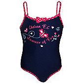 Chelsea FC Girls Swimsuit - Blue