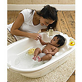 Mamas & Papas - Acqua Two Stage Ergo Bath - Pearl White
