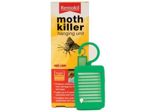 Rentokil Fm92 Moth Killer Hanging Unit X2