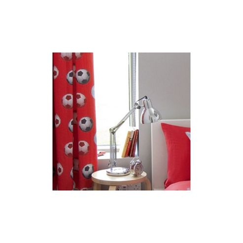 Catherine Lansfield Football Curtains in Red