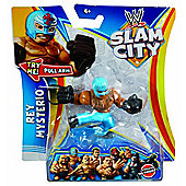 WWE Slam City Rey Mysterio Figure