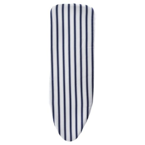 buy russel indigo striped elasticated ironing board cover
