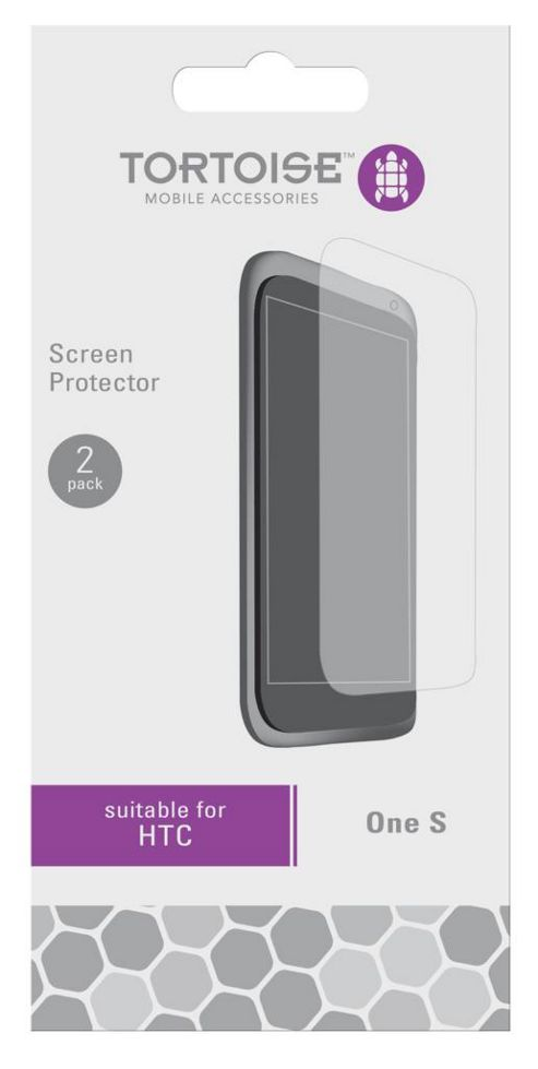 Tortoise™ HTC One X Screen Protector Twin Pack