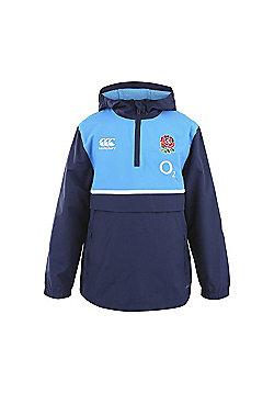 Canterbury England RFU Junior Shower Jacket 6 Nations 2016 - Peacoat - Navy