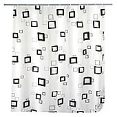 Wenko Quadro Shower Curtain