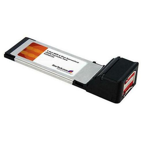 StarTech 2 Port SATA 6 Gbps ExpressCard eSATA Controller Card