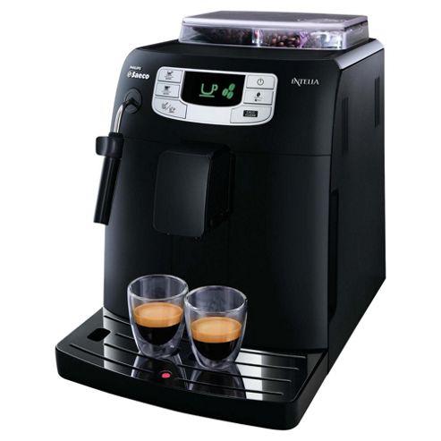 Philips Saeco HD8751/88 Intelia Focus Espresso Coffee Machine - Black