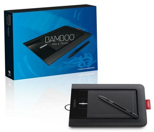 Wacom CTH-460 Bamboo Pen and Touch Graphics Tablet