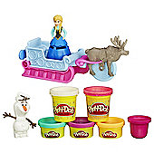 Play-Doh Frozen Sled