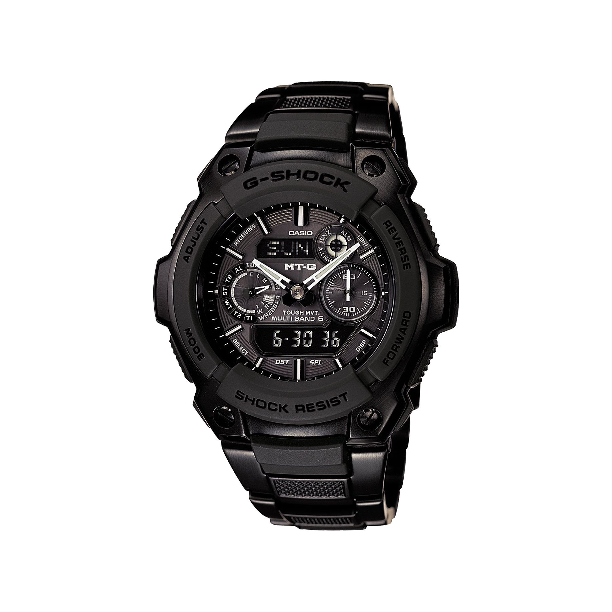 Casio G-Shock Chrono Watch MTG-1500B-1A1EF at Tesco Direct
