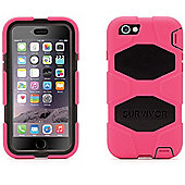 Griffin Survivor Case for iPhone6 - Pink/Black