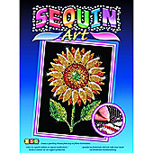 Sequin Art Sunflower