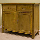 G&P Furniture Lyon Oak Sideboard