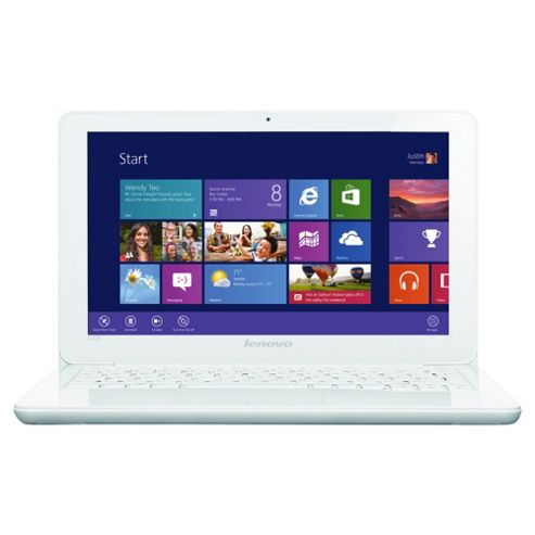 Lenovo IdeaPad S206 11.6inch AMD Dual-Core 4GB/320GB Windows 8 White