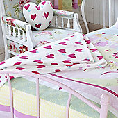 Catherine Lansfield Fairy Tale Throw - Pink
