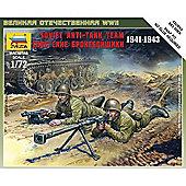 Zvezda - Soviet Anti-Tank Team 1941-1943 - Scale 1/72 6135